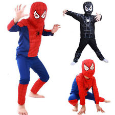 Spiderman Toddler Kids Boy Fancy Dress Costume Cosplay Halloween Party Outfits