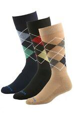2017 Kentwool 19TH Hole Collection ARGYLE Mens Casual Socks