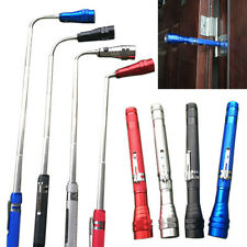 3color Flexible Torch Telescopic Lamp LED Magnetic Pick Up Tool Light Flashlight