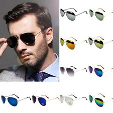 Unisex Women Men Vintage Retro Fashion Aviator Eyewear Sunglasses Glasses Shades