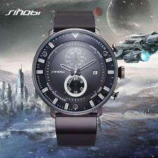 Mens Sport Chronograph Wrist Watches Vintage Boys Gents Military Aviation Watch
