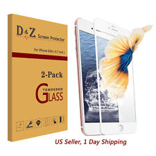"""2PCS 3D Full Covered Tempered Glass Screen Protector Film for iPhone 7 Plus 5.5"""""""