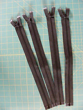 """Zippers - Heavy Weight - 14"""" Separating - Plastic - Black"""