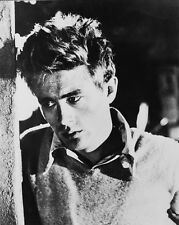 James Dean B&W Poster or Photo Moody Pose