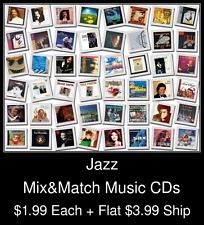 Jazz(2) - Mix&Match Music CDs @ $1.99/ea + $3.99 flat ship