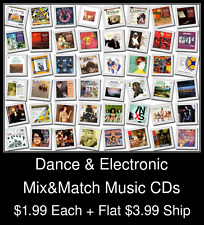 Dance & Electronic(3) - Mix&Match Music CDs @ $1.99/ea + $3.99 flat ship