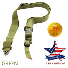 Adjustable 3-Point Three Tactical Slings Rifle Gun Sling Strap Quick Release USA