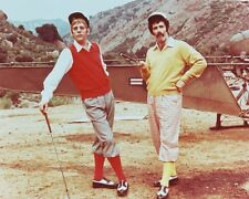 Donald Sutherland and Elliott Gould Color Poster or Photo Mash in Golf Attire