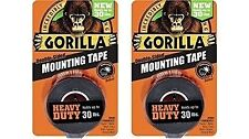 Gorilla Gorilla 6055001-2 Double-Sided Heavy Duty Mounting Tape (2 Pack), 1 And