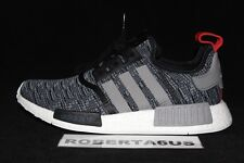 Adidas NMD Runner R1 BB2884 Nomad Grey Glitch Camo Core Black Red 3M Size 4-13