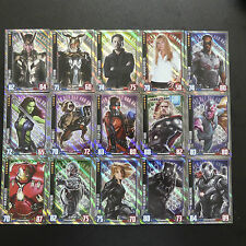 TOPPS MARVEL HERO ATTAX CINEMATIC UNIVERSE 2016 TRADING CARDS HOLOGRAPHIC FOIL