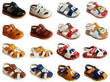 Toddler Baby Kids Boys Pumps Closes Toe Walking Casual Summer Sandals Shoes Size