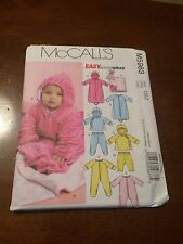 McCall's pattern 5963 Infants' Lined buntings and jacket jumpsuits, pants