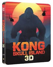 Kong: Skull Island (STEELBOOK)(Blu-ray 3D + Blu-ray)(All)(NEW) Digital Available