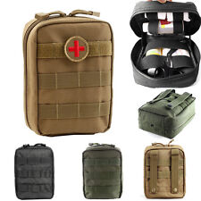 600D Compact Military Tactical MOLLE EMT Medical First Aid Utility Pouch Bag
