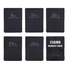 Black 64MB 128MB 256MB Memory Card Stick For Sony PS2 Playstation 2 PS2 New GL