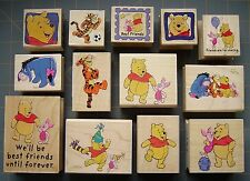 DISNEY WINNIE THE POOH & FRIENDS RUBBER STAMPS ~RARE FRIENDSHIP & MORE~ YOU PICK