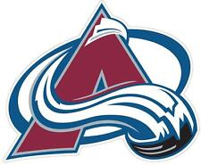 Colorado Avalanche NHL Color Die Cut Decal Car Sticker Choose Size Free Shipping