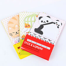1 PCS Cute Sticky Notes Memo Pad Paper Sticker Notepad Gift Office Stationery