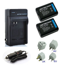 Battery Pack / Charger for Sony NP-FW50 InfoLthium W Series Rechargeable 1500mAh