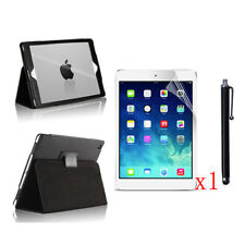 New PU Leather Case+1x LCD Film+Stylus Pen For 2017 Apple iPad 9.7 A1822/A1823