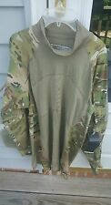 New Massif MultiCam Army Combat Shirt Flame Resistant Size Large