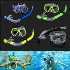 Scuba Diving Equipment Dive Mask Dry Snorkel Set Scuba Snorkeling Mask Gear Kit