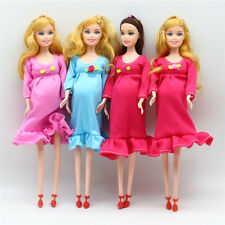 Pregnant Doll Suits Mom Doll Tummy Best Friend Play with Girls Educational SX