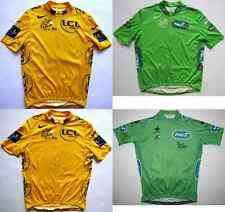 Tour de France 2010 maillot jaune yellow green cycling jersey top Radtrikot Nike