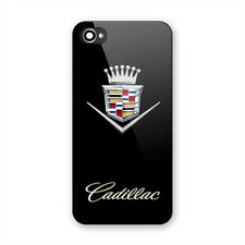 Cadillac Old Car Logo Print On Hard Plastic Case For iPhone 5 5s 6 6s 7 (Plus)