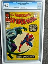 1967 AMAZING SPIDER-MAN #45 CGC 9.2 NM-  3RD APPEARANCE OF THE LIZARD