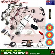 30-60lbs Compound Bow Hunting Archery Bow Kit Sprot Shooting Target Arrow RH