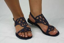 NEW MERIDA JELLY SANDAL WOMEN SHOES FLIP FLOP THONG FLAT SPIKE By ANN MORE