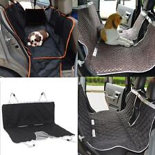 Anself Dogs Pet Car Back Seat Cover Hammock Protector Mat with View Window M0X3