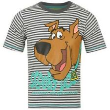 SCOOBY DOO: T SHIRT,BLACK/WHITE STRIPE,2/3YR,NEW WITH TAGS