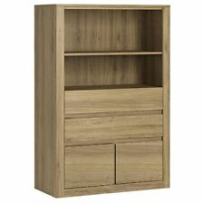 Hobby 4 Drawer Cabinet Storage Unit Open Top shelf 5 Panel Colour Options