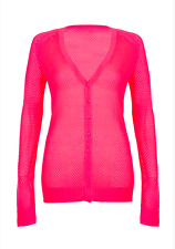 Lorna Jane Mesh Knit Cardigan **NEW W TAGS RRP$79** Winter Workout Active Layer