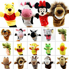Animal Wildlife Funny Hand Glove Puppets Finger Toddler Kids Baby Toy Push Dolls