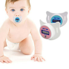 Safety Healthy Nipple Temperature Baby Infant LCD Digital Pacifier Thermometer