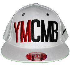 YMCMB - SNAPBACK CAP - ADJUSTABLE SIZE - RED WHITE NEW BLACK