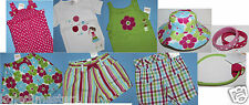 Gymboree NWT Girl 3 Ice Cream Sweetie Spring Summer Pick Tops Shorts Capris Hair