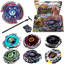 Beyblade 4D Fusion Top Metal Fight Master Rapidity Launcher Kits Set Kids Toys