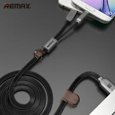 Best Phone Micro iPhone Lightning USB Fast Charging Data Sync Magnet Flat Cable