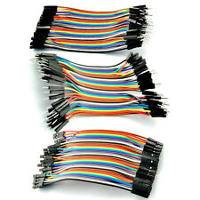 40pc 10cm Male Female Dupont Wire Cables Jumper 10cm 2.54MM 1P Fit For Arduino