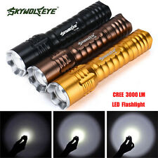 3000 Lumens Zoomable Focus 3 Modes CREE XML T6 LED 18650 Flashlight Torch Lamp