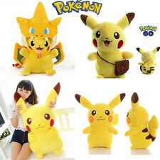 Pocket Monster Pikachu Pikachu Plush Stuffed Toy Soft Doll Anime Animal Figures