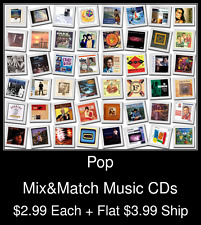 Pop(19) - Mix&Match Music CDs @ $2.99/ea + $3.99 flat ship