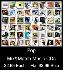 Pop(28) - Mix&Match Music CDs @ $2.99/ea + $3.99 flat ship