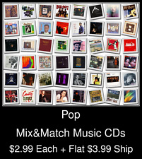 Pop(35) - Mix&Match Music CDs @ $2.99/ea + $3.99 flat ship