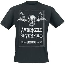 Avenged Sevenfold Face Card T-Shirt black